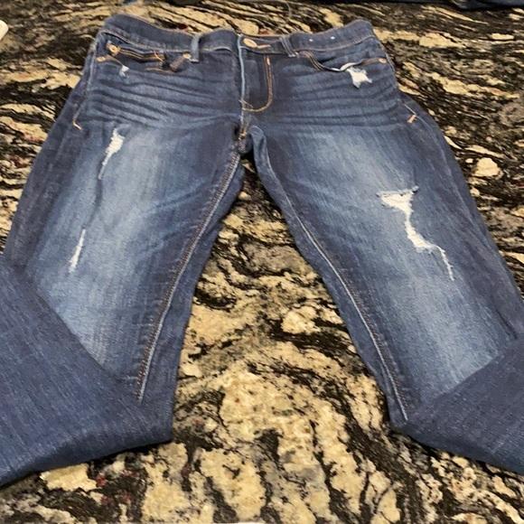 Sz 4S Express Midrise Legging Stretch Jeans